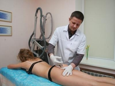 Программы лечения целлюлита с озонотерапией