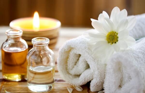 Ручной массаж с маслами