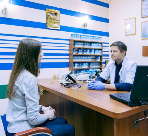 Доктор Северинов (врач Киев, медцентр ДИНОС)