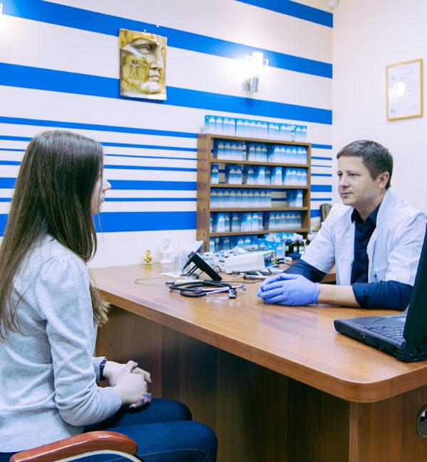 прием доктора Северинова (Динос)