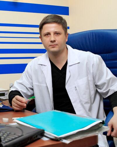 Сергей Северинов - главный доктор Центра ДИНОС (Киев)