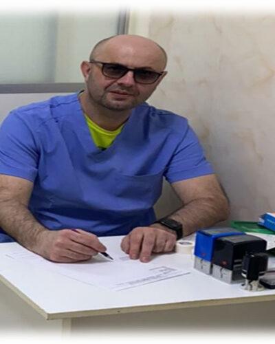 Доктор Вячеслав Величко в медцентре ДИНОС (Киев)