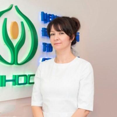 Наталья Волынец косметолог Центра ДИНОС (Киев)